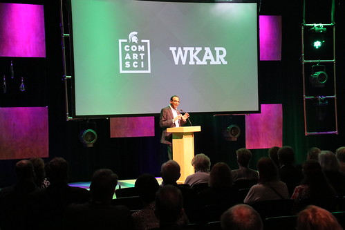 Landon Society Open House at ComArtSci and WKAR, May 2019