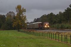 NS 288 at Bryce (travisnewman100) Tags: norfolk southern canadian pacific ns cp train railroad rr freight unit autorack bryce locomotive es44ac 288 atlanta north district georgia division