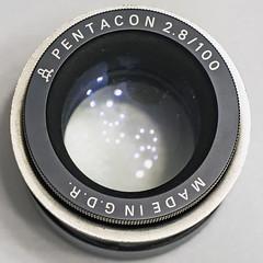 Pentacon AV 1:2.8/100mm (ang-yan) Tags: