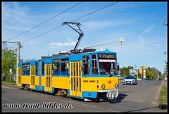 312-2019-04-25-4-Inselbergstraße (steffenhege) Tags: thüringerwaldbahn gotha überlandbahn strasenbahn streetcar tram tramway tatra kt4dc 312