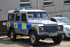 HMN-870-Y (S11 AUN) Tags: isleofman iom manx police land rover defender 110 4x4 rural offroad patrol spare panda incident response vehicle irv 999 emergency hmn870y2007