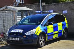 HMN-292-Y (S11 AUN) Tags: isleofman manx police ford smax 25t st ciu collision investigation traffic car anpr video equipped rpu roads policing unit 999 emergency vehicle hmn292y 2007