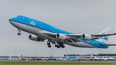 PH-BFR  Boeing 747-400M - KLM Royal Dutch Airlines (Peter Beljaards) Tags: msn27202 cf680 phbfr klm flyingdutchman riodejaneiro ams eham takeoff departure boeing747400m 747 boeing747 dutch aviationphotography nikon7003000mmf4556 aircraft airplane jetliner