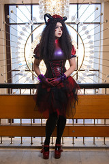 ANASTASIA VOLODINA / SUCCUBUS (VioletSpider) Tags: demon cosplay anastasiavolodina violetspider succubus horns dark beauty corset gothic goth