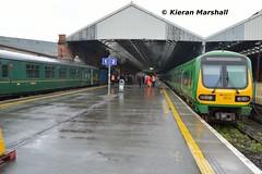 29019 arrives at Connolly, 9/5/19 (hurricanemk1c) Tags: railways railway train trains irish rail irishrail iarnród éireann iarnródéireann 2019 class29000 caf commuter 29019 1340maynoothconnolly rpsi railwaypreservationsocietyofireland mk2 mark2 dublin connolly