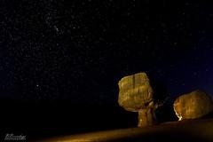 Balanced Rocks With Stars Marble Canyon Arizona (Barbara Brundage) Tags: balanced rocks with stars marble canyon arizona