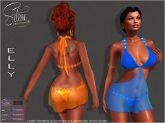 [Selene Creations] ELLY (Selene Morgan) Tags: dress elly hud maitreya slink physique hourglass