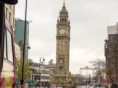 Belfast Clock Tower (BarbPatch) Tags: ireland northernireland belfast vacation