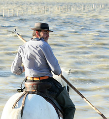 Portrait of a guardian in the Camargue - South of France (lotusblancphotography) Tags: france camargue people gens guardian portrait