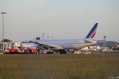 Boeing 777-328(ER) Air France // msn : 32964 // first flight Tokyo-Toulouse (Luc_slf) Tags: boeing 777 airfrance tokyotoulouse tokyo watersalut water toulouseairport toulouse toulouseblagnac aéronautique aeronaitics aeroport aeroporttoulouseblagnac