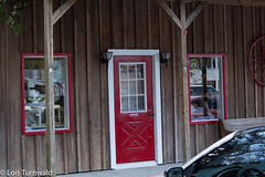 Red Door Antiques - HWW (11Jewels) Tags: canon 18200 storefront red micanopyfl antiques windowwednesday