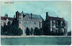 Battle Abbey Prior to 1904 (pepandtim) Tags: postcard old early nostalgia nostalgic battle abbey brown woodleys library hastings 19081904 1904 miss fisher quarry wood st helens park people cowell peggy woodham benedictine sussex maurice wilks land rover 1963 1947 1948