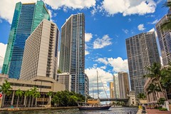 He got tired of waiting for the bridge he opened for him. (Aglez the city guy ☺) Tags: downtownmiami sailboat urbanexploration walkingaround exploration architecture afternoon building walking waterways miamiriver miamifl city clouds