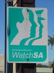 Early 2000s Neighbourhood Watch sign (RS 1990) Tags: adelaide australia southaustralia thursday 16th may 2019 neighbourhoodwatch sign 2000s grangerd