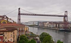 Biskaya-Brücke / Biskaya-Bridge # 1 (schreibtnix on'n off) Tags: reisen travelling europa europe spanien spain portugalete brücke bridge biskayabrücke biskayabridge olympus e5 schreibtnix