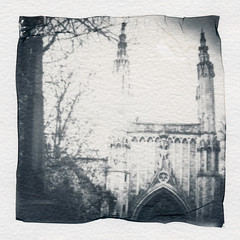 polaroid2005 (www.cjo.info) Tags: 1840 1840s 19thcentury allsaintscemeterynunhead bw cansonmontvalcoldpressed england europe europeanunion instantlab london m43 magnificent7 magnificentseven magnificentsevengardencemeteries microfourthirds nikcollection nunhead olympus olympuspenfgzuikoautos40mmf14 olympuspenf penfmount polaroid polaroidemulsionliftprint silverefexpro silverefexpro2 southwark theimpossibleproject unitedkingdom westerneurope architecture blackwhite blackandwhite blur bokeh building carving cemetery chapel cloud decay digital flora focusblur gothic gothicrevival gravegraveyard manualfocus monochrome oldbuilding overgrown paper plant religion religiousbuilding ruins shallowdepthoffield sky stone stonework wooded