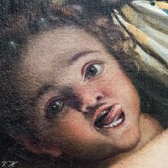 2019/02/24 17h11 Annibale Carracci, «Vénus, un satyre et deux cupidons» (détail) (1587-1588), Galerie des Offices (Florence) (Valéry Hugotte) Tags: 24105 annibalecarracci carracci firenze florence galeriedesoffices galleriadegliuffizi italia italie italy satiro canon canon5d canon5dmarkiv détail musée painting peinture satirettoeamorina satyresetcupidon tableau twosatyrsandacupid unsatyreetdeuxcupidons