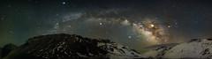 Milkway Panorama (vaidyarupal) Tags: milkyway milkywaychasers panorama dramaticsky stars starryskies starrysky astrophotography astronomy astro galaxy galacticcore galaxies nebula nebulae nebulea earth longexposure longexposurephotography
