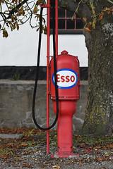 Esso Benzinstander-2502 (Kenneth Gerlach) Tags: benzin benzinstander diesel esso fall gasolin landscape terslev haslev regionzealand denmark