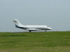 N280LS. (aitch tee) Tags: n280ls gulfstream g280 bizjet aircraftspotting cardiffairport aviation cwlegff maesawyrcaerdydd walesuk ttail