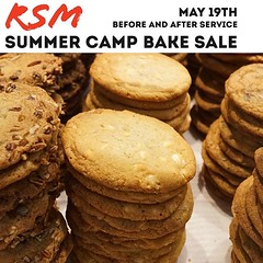 Our student ministry will be selling baked goods before and after service this Sunday! $2 per bag. All proceeds go to helping students with camp costs. Skip breakfast and feast on some amazing treats. We have seen a list of what's coming and you won't wan (rcokc) Tags: our student ministry will be selling baked goods before after service this sunday 2 per bag all proceeds go helping students with camp costs skip breakfast feast some amazing treats we have seen list what's coming you won't want miss out 🍪🍩🍡