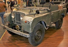 Old Landy (Schwanzus_Longus) Tags: techno classica essen german germany uk gb great britain british old classic vintage car vehicle england english 4x4 awd offroad offroader land rover 80 series i 1