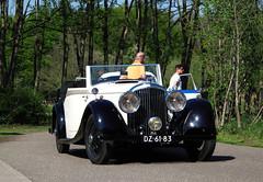 1937 Bentley 4¼ Litre (rvandermaar) Tags: 1937 bentley 4¼ litre bentley4¼litre derby bentleyderby sidecode1 import dz6183