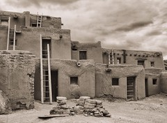 Taos Pueblo, NM - Icons of the Southwest USA (The Shared Experience) Tags: iconic southwest usa 2017 sonydslr sonyalpha travel desert taospueblo nm