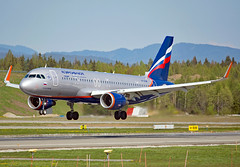 VP-BJW (Skidmarks_1) Tags: vpbjw airbusa320 aeroflot engm norway osl oslogardermoenairport aviation aircraft airport airliners