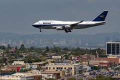 British Airways 747-400 arrival at LAX (beltz6) Tags: bristishairways boac boeing 747 747400 boeing747 boeing747400 gbygc lax klax losangeles losangelesinternationalairport aviation avgeek nikon d850 nikond850