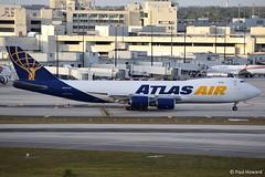 2019-02-16 MIA N854GT (Paul-H100) Tags: 20190216 mia n854gt boeing 747 b747 freighter atlas air