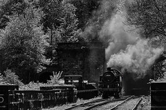 BR Standard 4MT 2-6-4T 80136 NYMR_E5A4048 (Jonathan Irwin Photography) Tags: br standard 4mt 264t 80136 nymr north yorkshire moors railway steam trains heritage diesels grosmont station semaphores tunnel heartbeat national park historic carriages pullman dining train