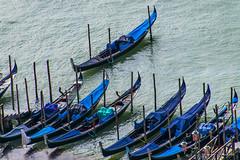 Gondoles (Didier Mouchet) Tags: italie venise gondole canal canaux eau didiermouchet d5300 nikond5300 nikon bateau navigation gondolier venezia