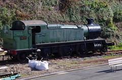 Kingswear [203] (Rynglieder) Tags: england devon kingswear locomotive steam gwr prarie 4110