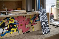 DSC_9050-processed (Chairman Ting) Tags: blog post artinstallation mural chairmanting carsonting characters art illustration muralart saltspringisland customhome nikond600 nikkor50mm documentation