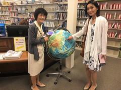 city library visit in Birmingham, fall 2018 (Michigan Shiga sister-states) Tags: ritto birmingham sistercities internationalexchange shigaprefecture michigan