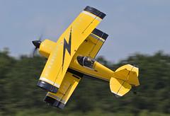 N99MF - 5/16/19 (nstampede002) Tags: pitts pittsspecial pittss2 pittss2s bulldog buckroetman aerobatics aerobatic aerobaticaviation khmp aviationphotography
