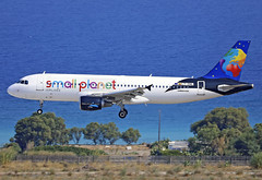 LY-ONL (QC PHOTOGRAPHY) Tags: rhodes diagoras greece july 30th 2018 small planet airlines afrique a320200 lyonl