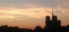 Sunset For A Cathedral ~ Notre Dame de Paris ~ MjYj© (MjYj ~ IamJ) Tags: sunset cathedral paris mjyj notredamedeparis shot with dxo one dxo5024003 mjyj© eden femme photo280725 woman ville tones reflets light time texture temps sun solitude soleil iphone mania tournelle pont henriiv stlouis stegeneviève seine montebello toureiffel