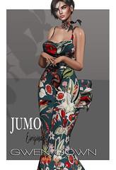 Gwen Gown AD (junemonteiro) Tags: jumo originals chic glamour feminine maitreya belleza slink