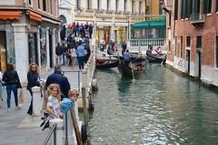The Kids On Rio Orseolo (Joe Shlabotnik) Tags: venice italy canal 2019 april2019 venezia italia everett violet sue afsdxvrzoomnikkor18105mmf3556ged