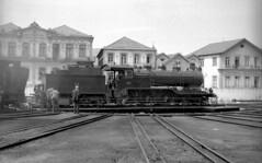 CP 282, Régua, 3 June 1969 (filhodaCP) Tags: cp vapor comboiosdeportugal caminhodeferro linhadodouro linhadocorgo steamlocomotive douro museuferroviário