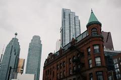 * (Breanna.m) Tags: toronto downtown 5dclassic 40mm urban gooderhambuilding flatironbuilding streetpho streetphotography