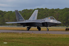 171105_061_JaxAS_F22 (AgentADQ) Tags: us air force lockheed f22 raptor stealth jet fighter plane military aviation airplane jacksonville florida nas show airshow tyndall