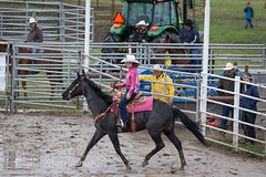 High River Rodeo 2018 (tallhuskymike) Tags: highriver rodeo event horse horses cowgirl alberta muddy mud prorodeo 2018 outdoors guyweadickdays
