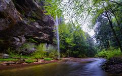 Hocking Hills (brutus61534) Tags: whispering falls hocking hills state park stream lightroom landscape