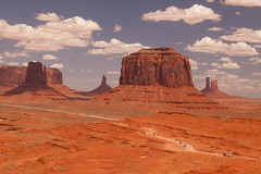 john ford point in monument valley (ohikura) Tags: arizona butte johnfordpoint monumentvalley navajo utah