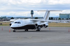 C-GSUI (LAXSPOTTER97) Tags: cgsui avro 146 rj100 cn e3369 ln 369 north cariboo air aviation airport airplane cyvr