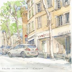 Salon de provence (fabien.denoel) Tags: salon provence france aquarelle