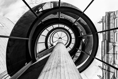 Master of Light (Leipzig_trifft_Wien) Tags: berlin deutschland architecture pei ieohmingpei staircase black white monochrome building city urban museum lookup